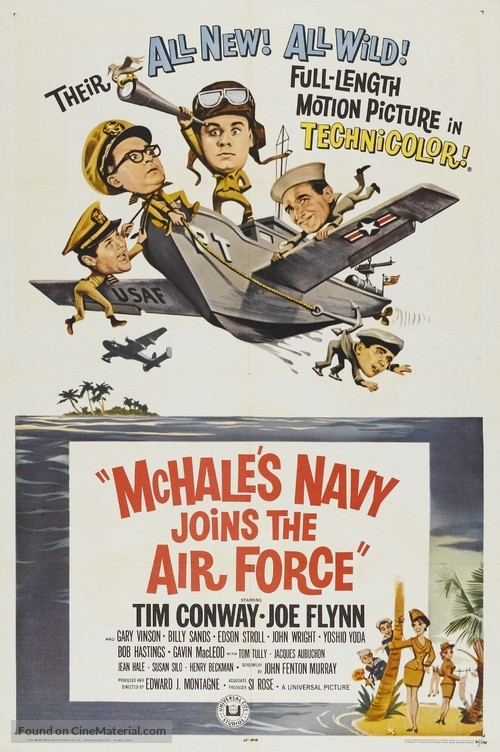 McHale's Navy Joins the Air Force - Movie Poster