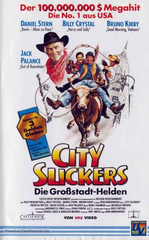 City Slickers 1991 German Movie Cover