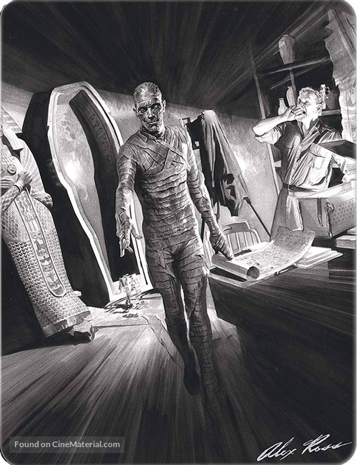 The Mummy - Spanish Blu-Ray movie cover