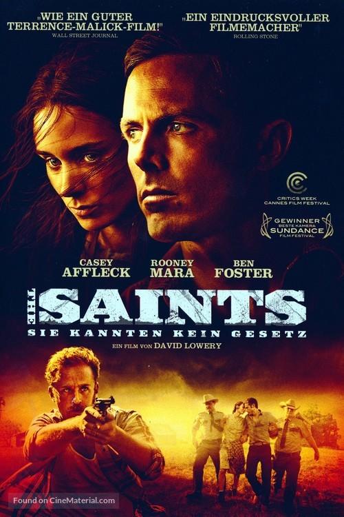 Ain't Them Bodies Saints - German Movie Cover