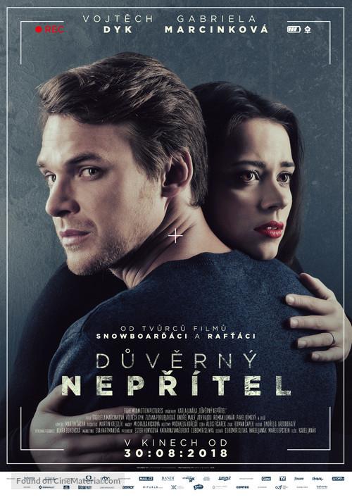 Duverný neprítel - Czech Movie Poster
