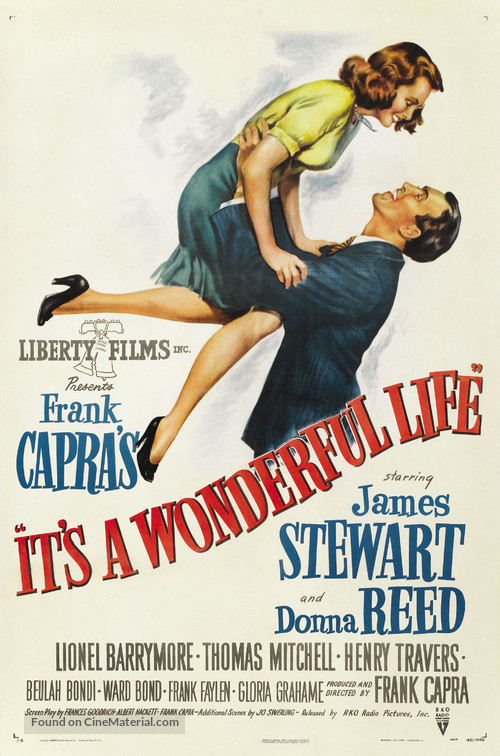 It's a Wonderful Life - Theatrical movie poster