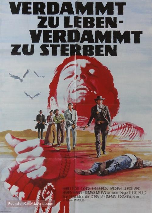 Quattro dell'apocalisse, I - German Movie Poster