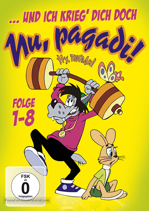 """Nu, pogodi!"" - German Movie Cover"