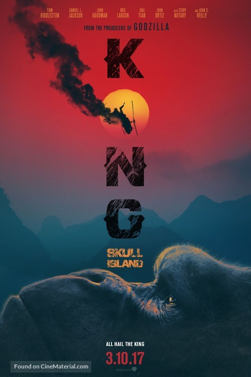 Kong: Skull Island - Movie Poster