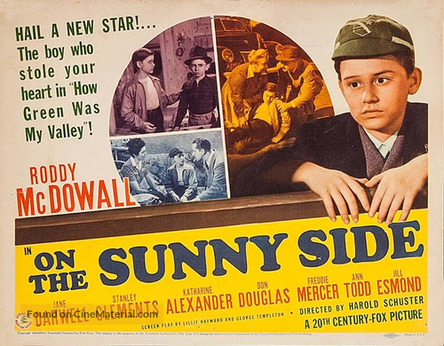On the Sunny Side - Movie Poster