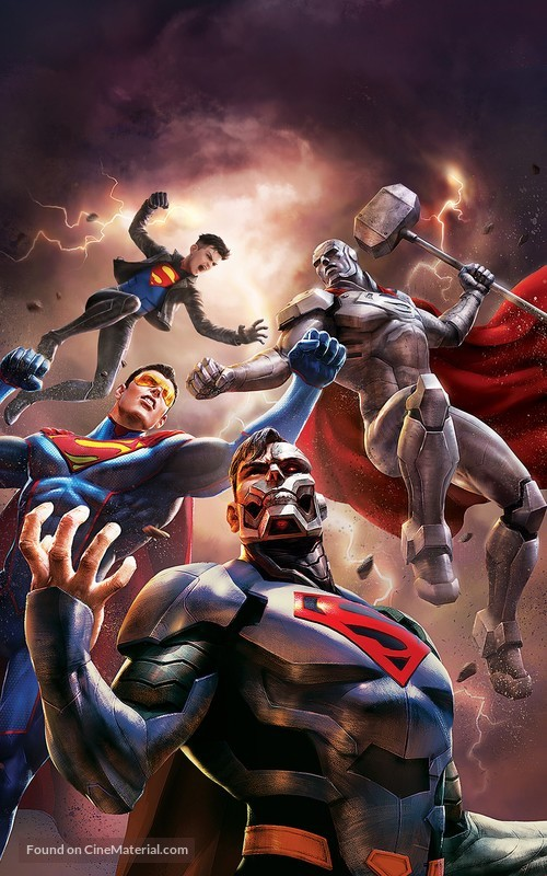 Reign of the Supermen - Key art
