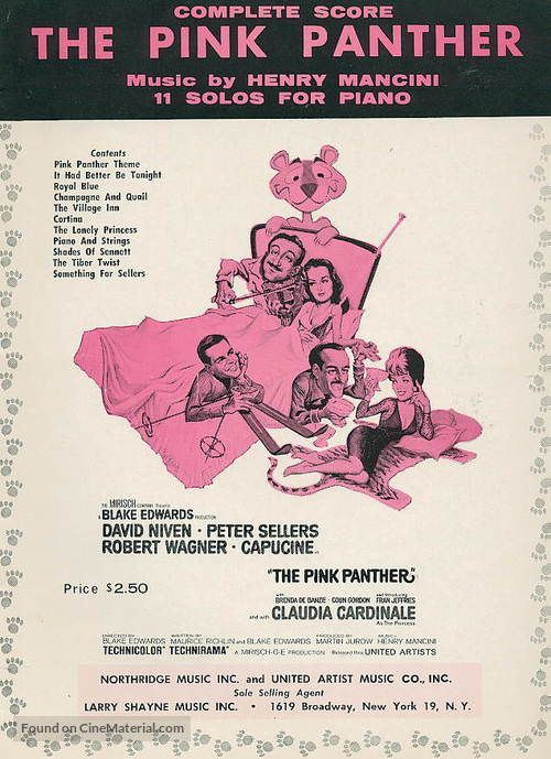 The Pink Panther - Movie Poster