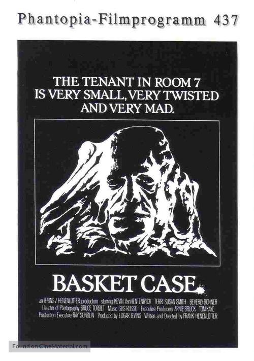 Basket Case - German poster