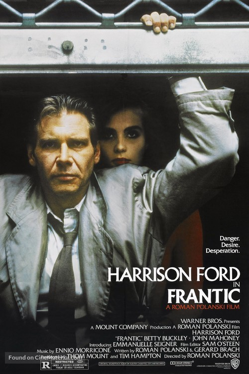 Frantic - Movie Poster