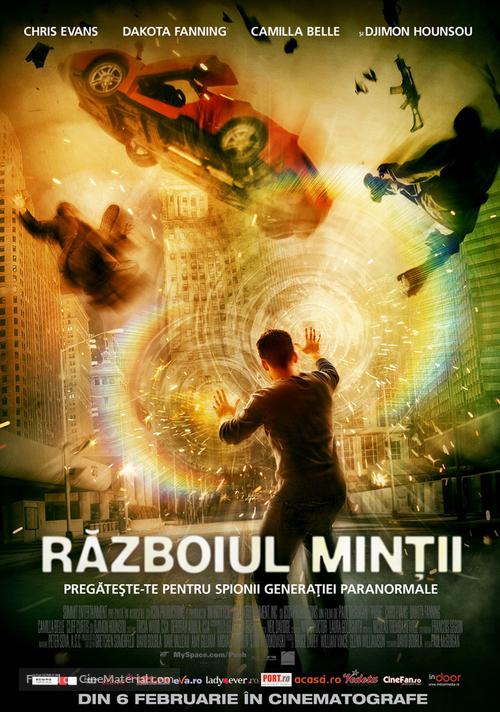 Push - Romanian Movie Poster
