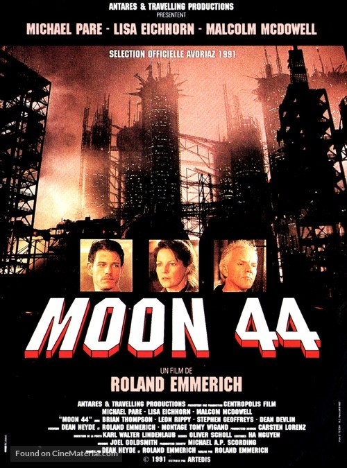 Moon 44 - French Movie Poster