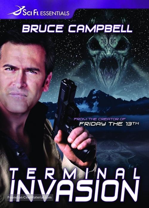 Terminal Invasion - DVD movie cover