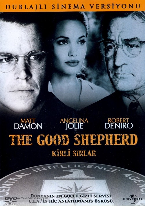 The Good Shepherd - Turkish DVD movie cover