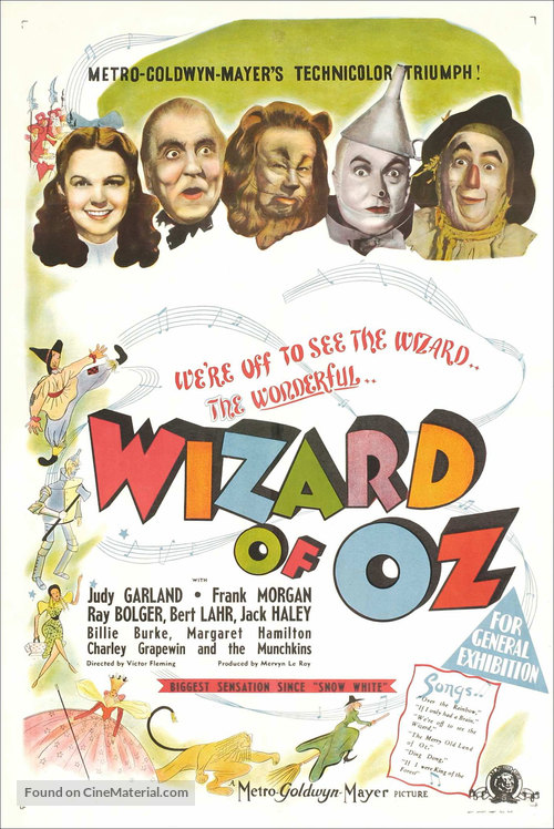 The Wizard of Oz - Australian Movie Poster