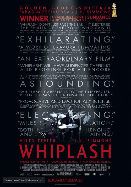 Whiplash - Finnish Movie Poster