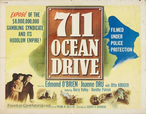 711 Ocean Drive - Movie Poster