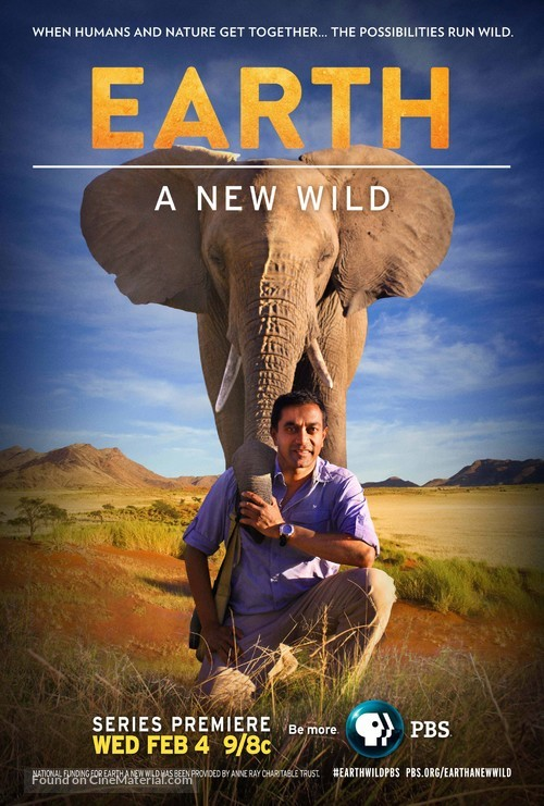 """""""EARTH a New Wild"""" - Movie Poster"""
