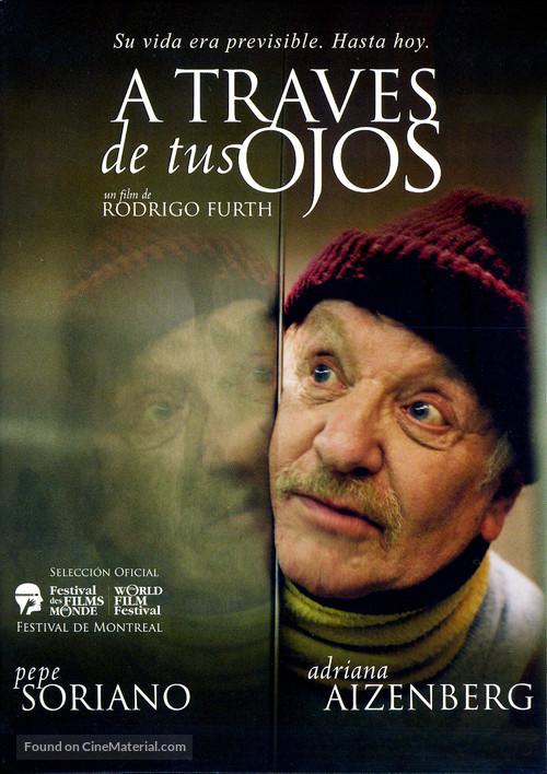 A travès de tus ojos - Argentinian poster