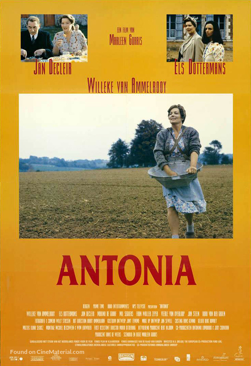 Antonia - Dutch Movie Poster