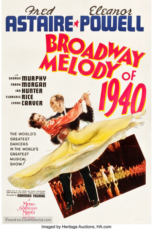 Broadway Melody of 1940 - Movie Poster
