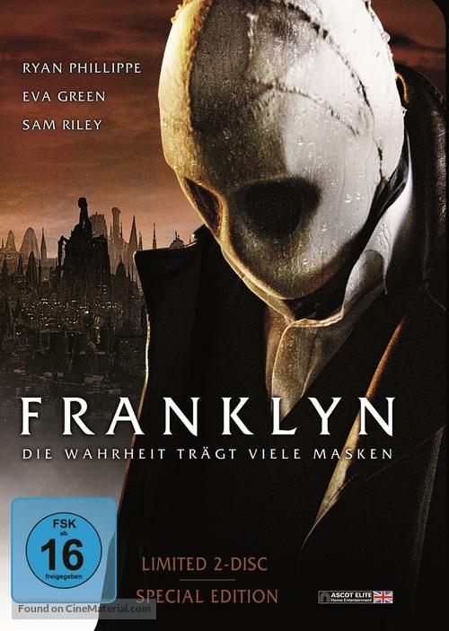 Franklyn - German DVD movie cover