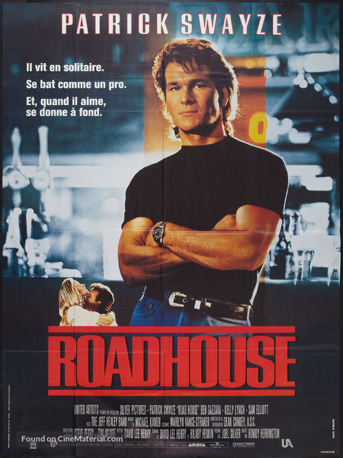 Road House - French Movie Poster