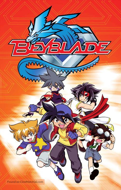 """Bakuten shoot beyblade"" - VHS movie cover"
