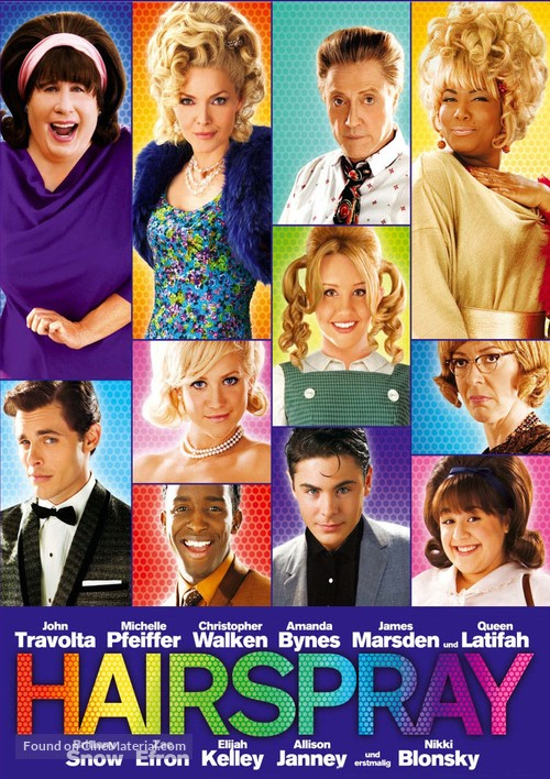 Hairspray - Swiss Movie Cover