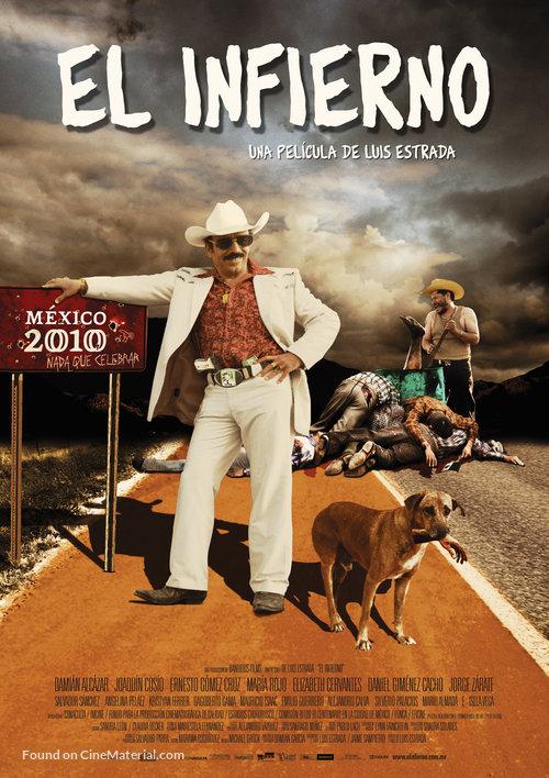 El infierno - Mexican Movie Poster