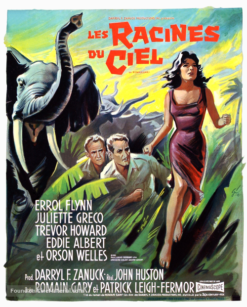 The Roots of Heaven - French Movie Poster