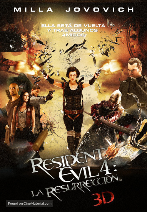 Resident Evil Afterlife 2010 Mexican Custom