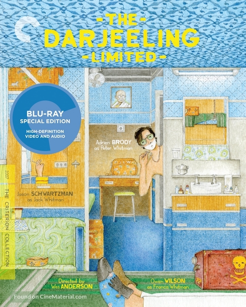 The Darjeeling Limited - Blu-Ray movie cover