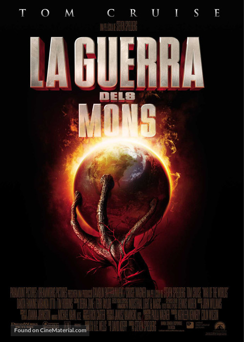 War of the Worlds - Andorran Movie Poster