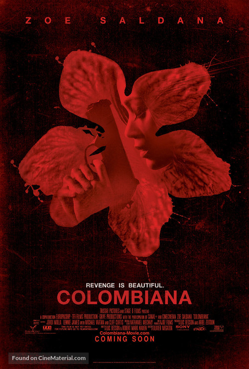 Colombiana - Movie Poster