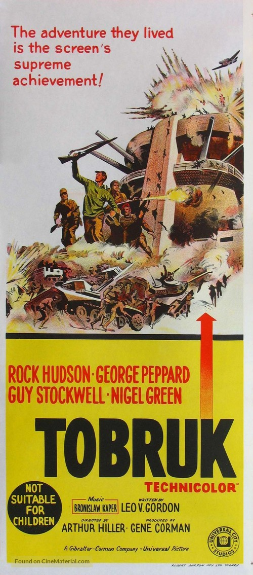 Tobruk - Australian Movie Poster