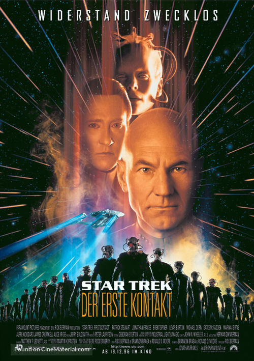 Star Trek: First Contact - German Movie Poster