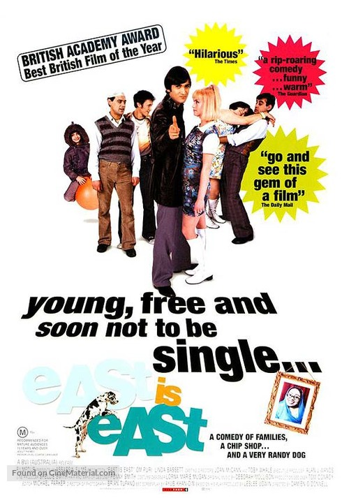 East Is East - British Movie Poster