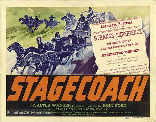 Stagecoach - Movie Poster