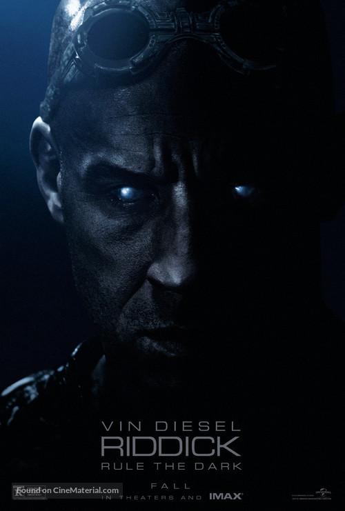 Riddick - Movie Poster