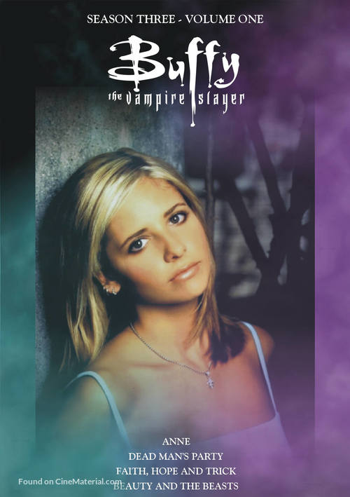 """""""Buffy the Vampire Slayer"""" - DVD movie cover"""