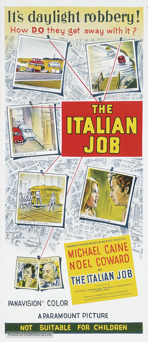 The Italian Job - Australian Movie Poster
