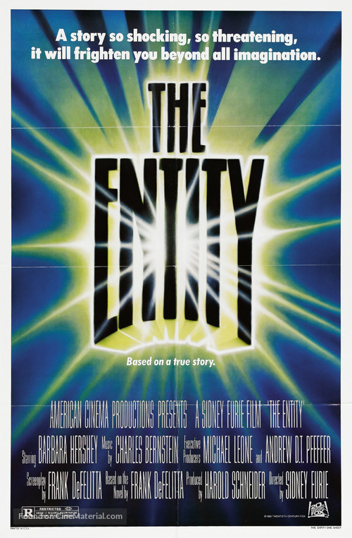The Entity - Movie Poster