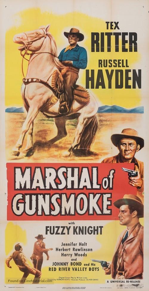 Marshal of Gunsmoke - Movie Poster