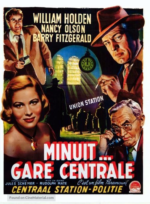 Union Station - Belgian Movie Poster