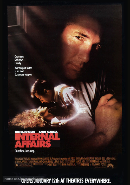 Internal Affairs - Movie Poster