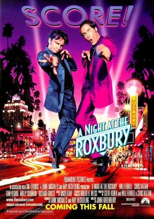 A Night at the Roxbury - Movie Poster