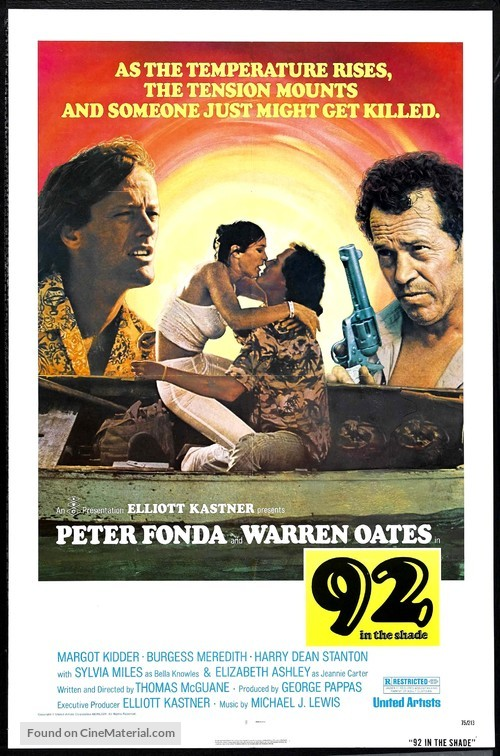 92 in the Shade - Movie Poster