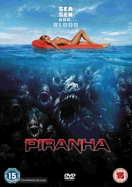 Piranha - British DVD movie cover