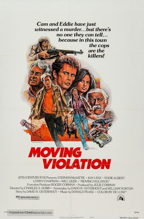 Moving Violation - Movie Poster